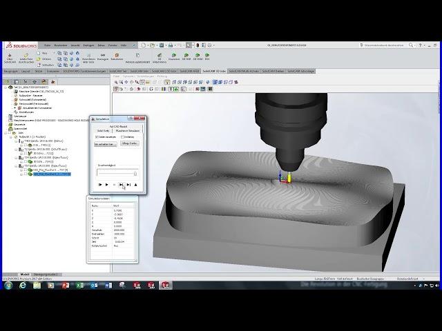 SolidCAM 2016 - HSS Projektion