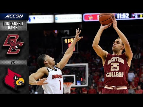 Boston College vs. Louisville Condensed Game | 2018-19 ACC Basketball