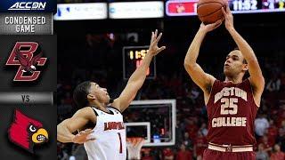 Boston College vs. Louisville Condensed Game | 2018-19 ACC Basketball