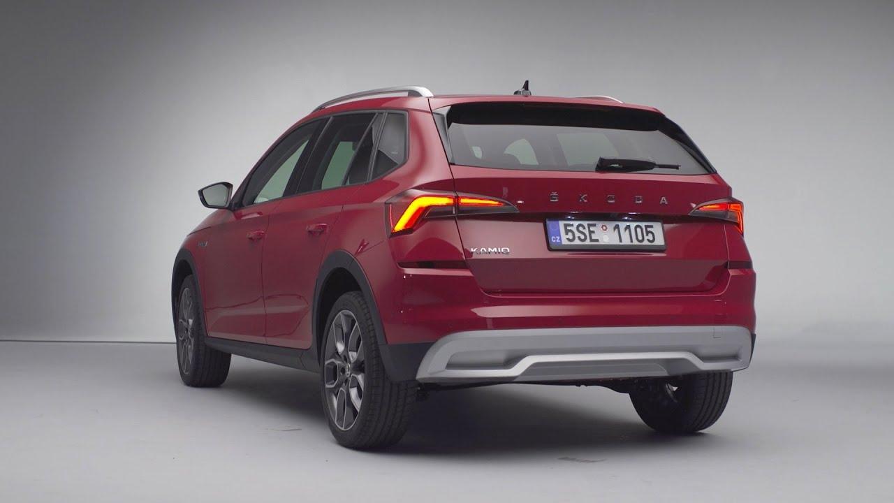 Kamiq Scoutline: nueva versión para el primer SUV urbano de Škoda
