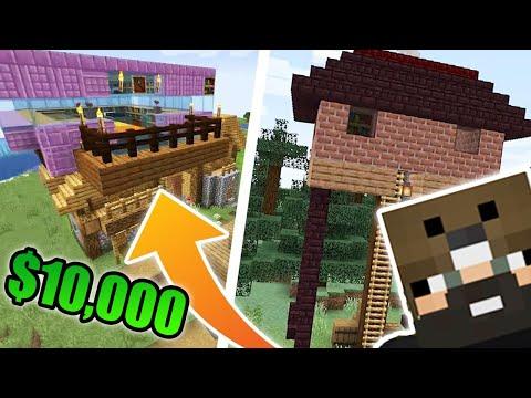 Minecraft House Building Challenge