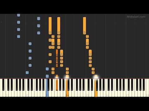 Billy Joel - Scenes From An Italian Restaurant (Piano Tutorial) [Synthesia]