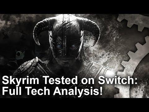 Skyrim: Switch vs PS4 Graphics Comparison + Docked vs Undocked Analysis!
