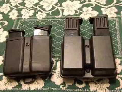Kydex Magazine Holders Blackhawk Vs Uncle Mike's YouTube Enchanting Blackhawk Single Stack Magazine Holder