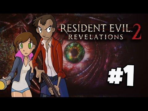 RESIDENT EVIL REVELATIONS 2 PS4 en Español  El inicio parte 1