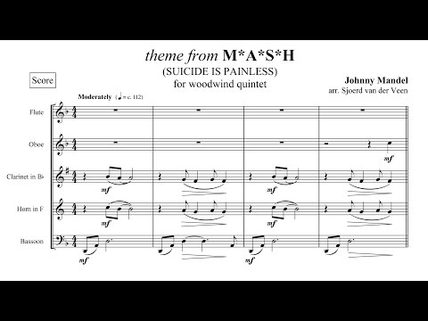 Theme from MASH - for woodwind quintet