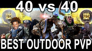 THE REAL BATTLE FOR AZEROTH 40 vs 40 BEST WORLD PVP ACTION