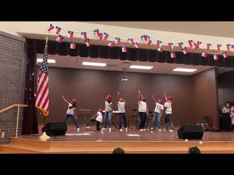 Elsa England Elementary school Talent Show