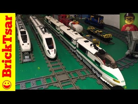 LEGO 4511 High Speed Passenger 9V Train From 2003 Review