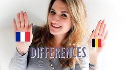 Les DIFFÉRENCES entre la BELGIQUE et la FRANCE