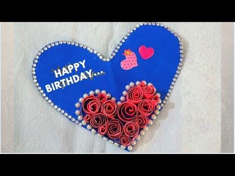 HANDMADE BIRTHDAY CARD FOR BEST FRIEND|VALENTINE CARD|DIY GIFT IDEA|BIRTHDAY GIFT CARD||RAGHA
