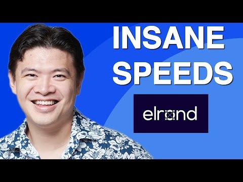 Elrond: Killer 1000x Speed Blockchain with Staking!