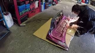 part 3/3 - E36 V8 344i DRIFT PROJECT SouthWays - víko kufru, chladič serva,obhlédnutí -  DIY
