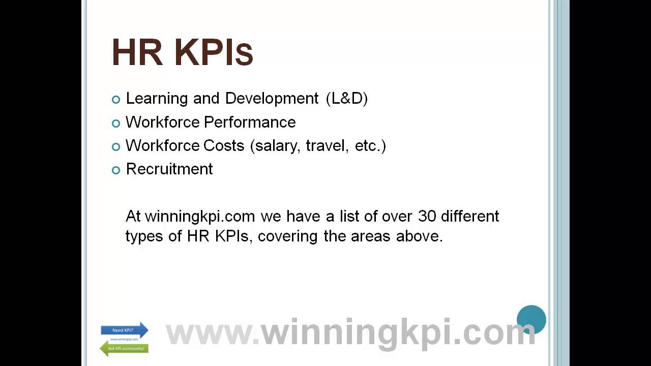 how to write a kpi report