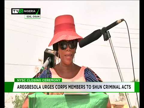 Aregbesola urges Corps members to shun criminal acts