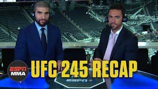 Kamaru Usman beats Colby Covington, Alexander Volkanovski wins gold | UFC 245 Recap | ESPN MMA