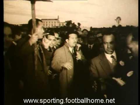 Sporting - 4 x Atlético - 1 de 01/01/1955 Jogo Particular
