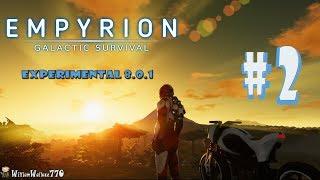 👽 EMPYRION GALACTIC Survival | Construir Base 1/2 | Experimental  8.0.1 | Español Cap. #  02