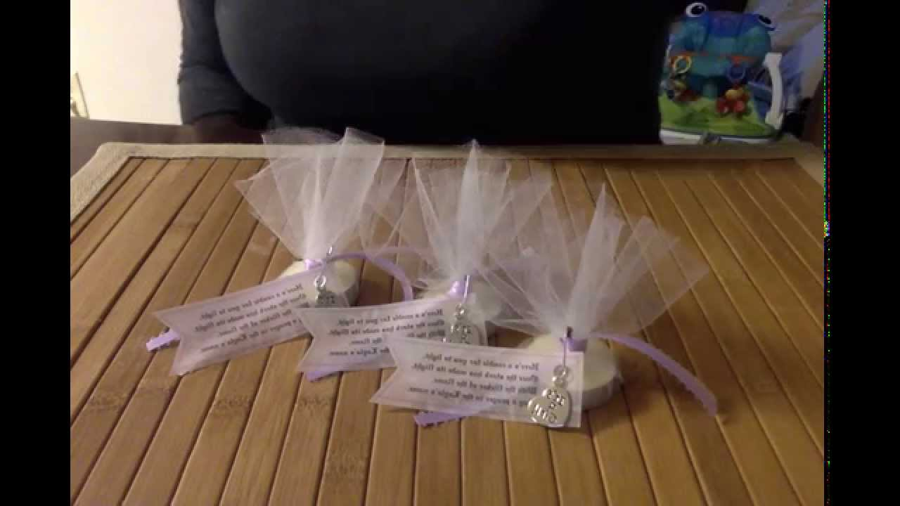 Homemade Baby Shower Thank You Gifts For Guests Baby Shower Ideas