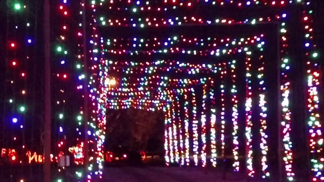 112214 2014 Christmas Holiday Lights Show - YouTube