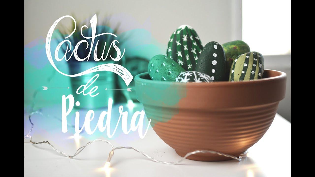 Cactus de piedra DIY YouTube