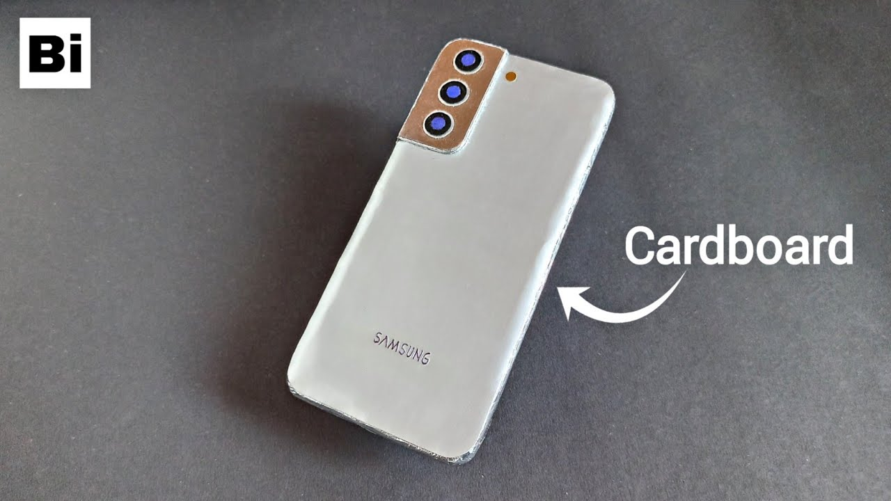 How To Make Samsung Galaxy S21 Plus From Cardboard