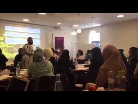 "SHAHADAH during ""A Heart Serene"" seminar in Denmark"