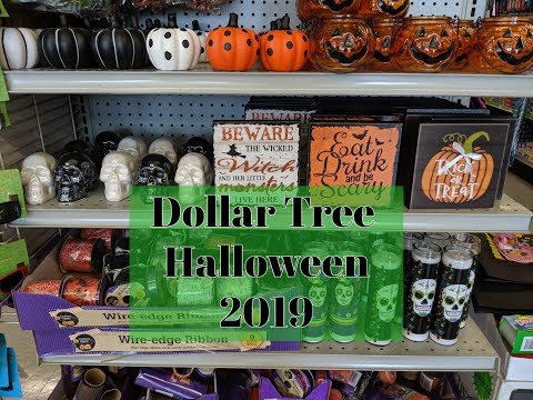 Halloween at Dollar Tree 2019!
