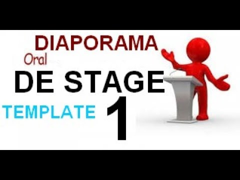 Diaporama Orale De Stage Template Youtube