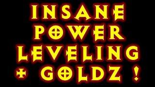 Diablo 3 INSANE Gold Farming / Power leveling Reaper Of Souls!