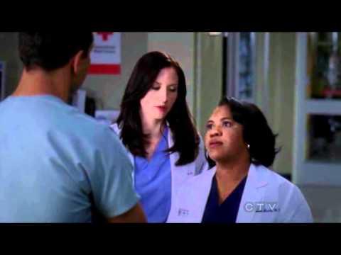 Lexie wants Bailey to write up Nurse Eli
