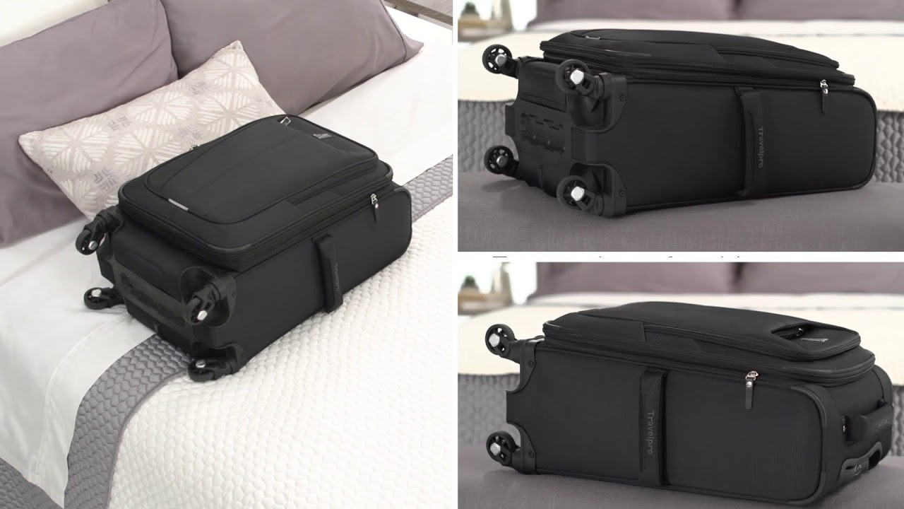 Travelpro Maxlite 3 22in Expandable Carry On Black Carryons