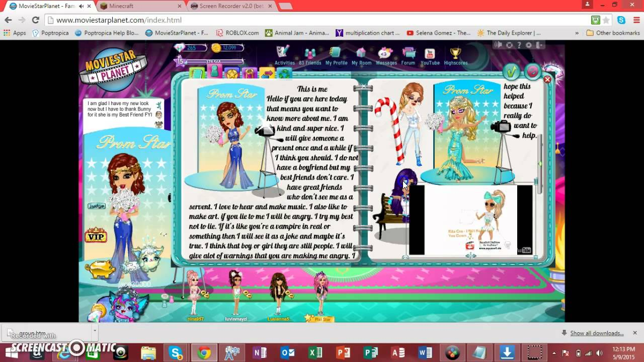 Cool biography ideas - How To Make A Bio In Msp