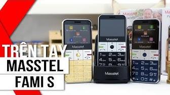 FPT Shop - Trên tay Masstel Fami S: Thiết kế ấn tượng, Nhiều màu sắc