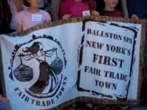 NY's 1st Fair Trade Town - Ballston Spa