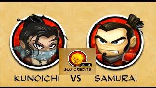 SvZ defense 2 - Multiplay - KUNOICHI vs SAMURAI  - Defense