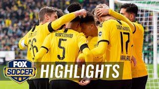 Werder Bremen Vs. Borussia Dortmund | 2020 Bundesliga Highlights