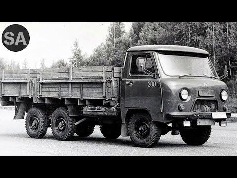 Трёхмостовый УАЗик. УАЗ-452К,нужны ли шесть колёс?
