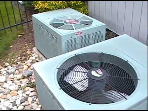 2005 Ruud Air Conditioner Youtube