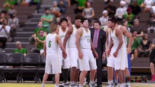 NBA 2k 16: My career (First game) Livestream Ep.1