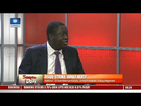 ASUU Strike: Babalakin,Prof Ogunyemi Seek Solution To Improving Nigeria's Education System Pt.1