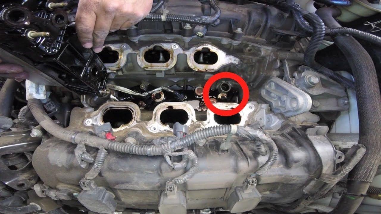 2014 Tundra Head Unit Wiring Diagram Jku Oil Pressure Sensor Replace And Spark Plug Replace