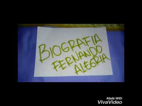 Biografía Fernando Alegria