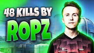 CS:GO - ropz 48 kills on Nuke @ FACEIT
