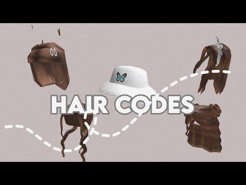 Aesthetic Bloxburg Hair Codes Kaelle Youtube