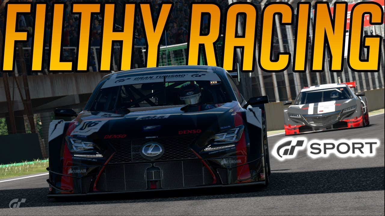 Gran Turismo Sport: Some of the Filthiest Racing