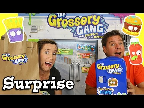 Grossery Gang Surprise & Blindfold Taste Test Challenge