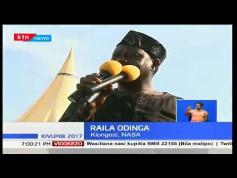 Raila Odinga's words during Chris Msando's burial