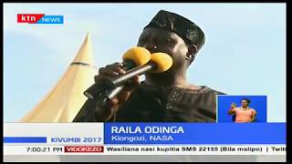 Raila Odinga's words during Chris Msando's burial