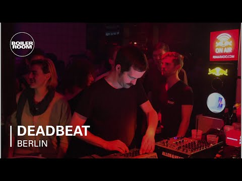 Deadbeat Boiler Room Berlin DJ Set/ Red Bull Music Academy Takeover